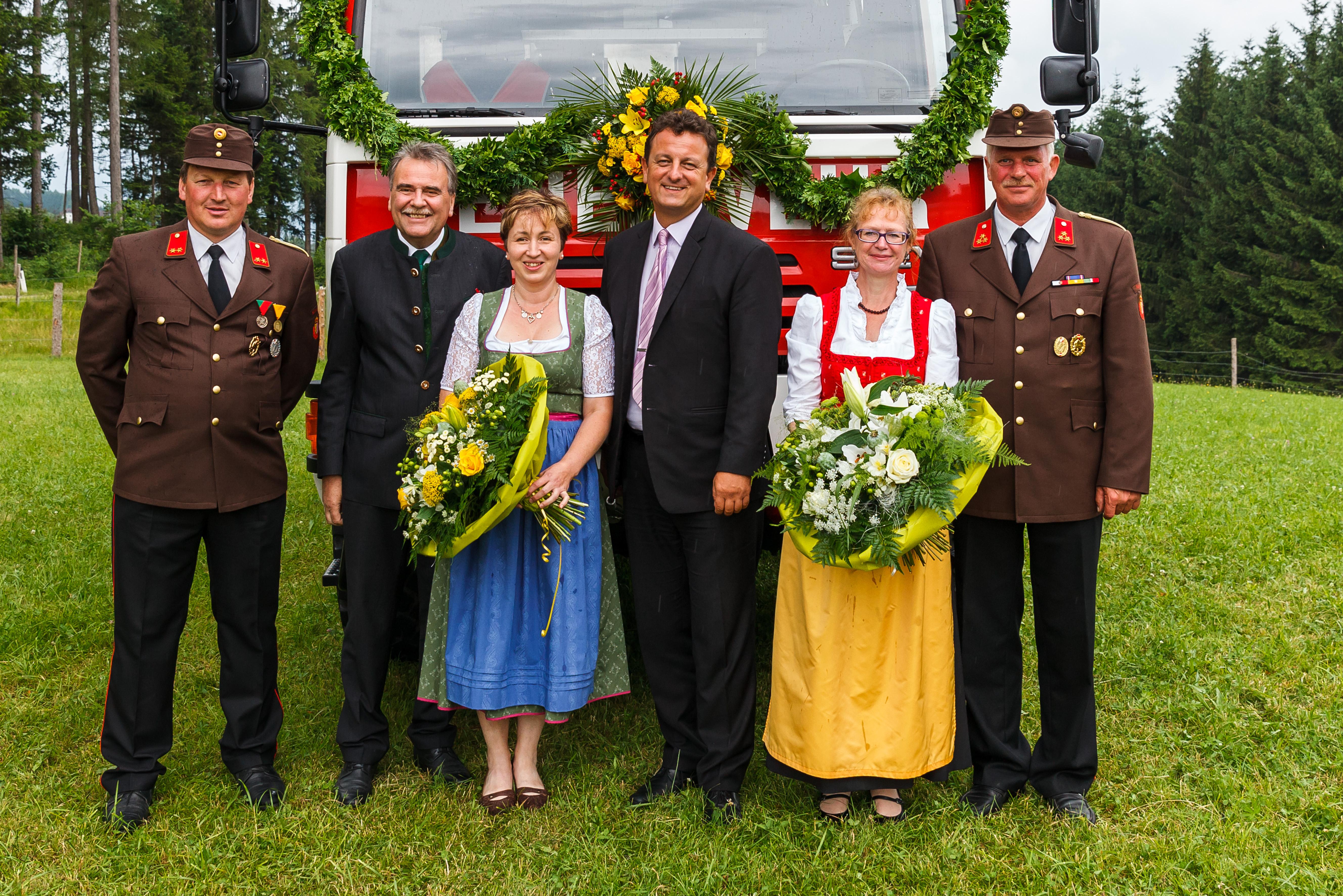 Fahrzeugsegnung Altpernstein 25. Juni 2017