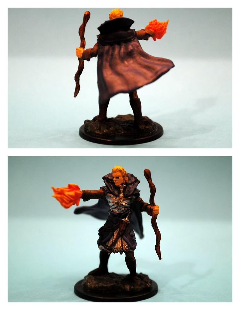 Elf Male Sorcerer (Deep Cuts Pathfinder Battles) | Jennifer Spencer