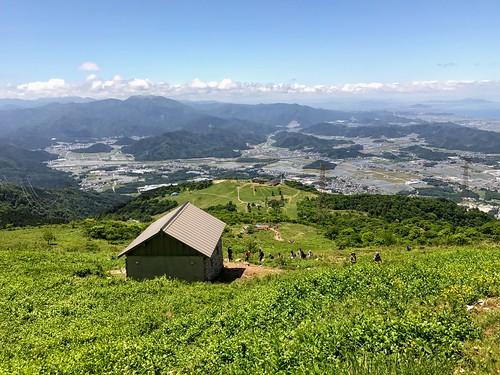 伊吹山 表登山道 6合目 避難小屋 振り返り | by ichitakabridge