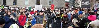 Protest rally against Trump's travel ban, Copley Square - 2017 Jan 29 | by lwooten929