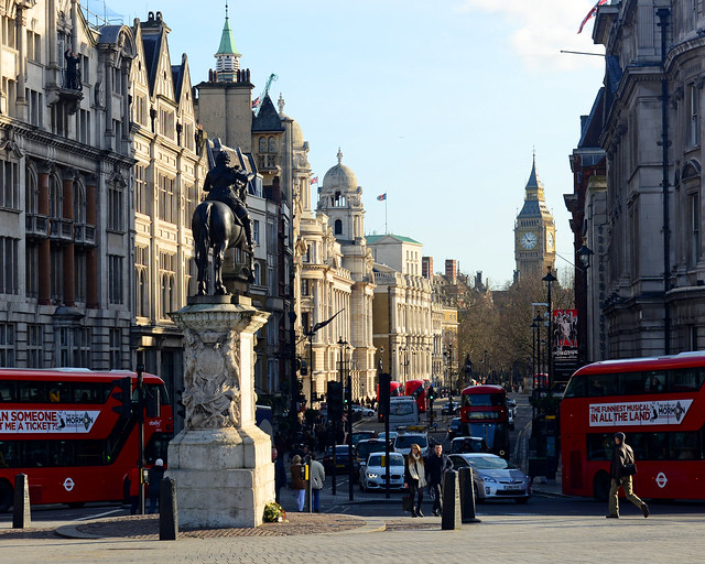 Vistas desde Trafalgar Square
