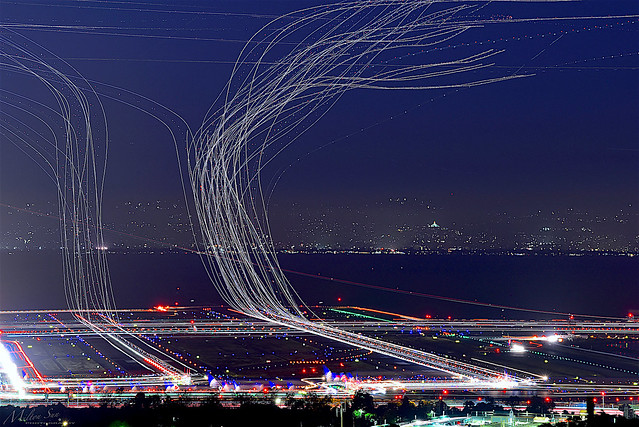 A Busy Night|San Francisco International Airport