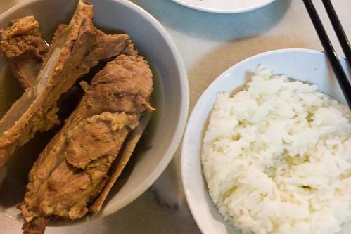 Bak Kut Teh: Soup with Pork   by wuestenigel