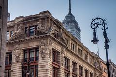 Detalle del Centro Histórico de la Ciudad de México