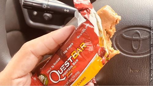 Desayuno de Campeones xD Luego de Pedalear el éxito #lowcarbs #questbar #protein #lostbikers