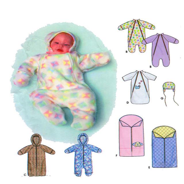 Simplicity 9418 baby bunting bag