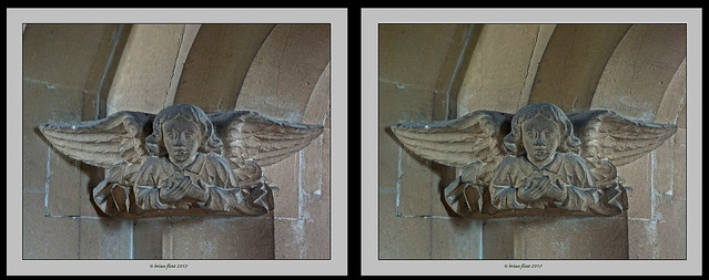 Stone Angel - 3d cross-view