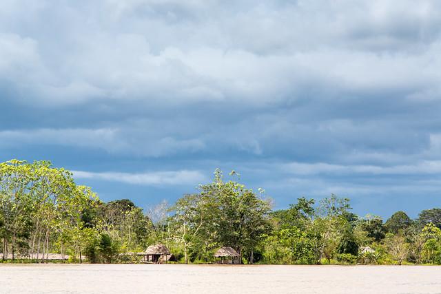 End of the Rainy Season on The Amazon River