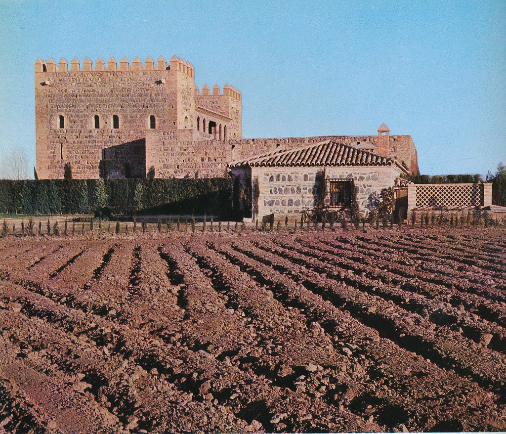 Palacio de Galiana de Toledo hacia 1967 por Marc Flament.