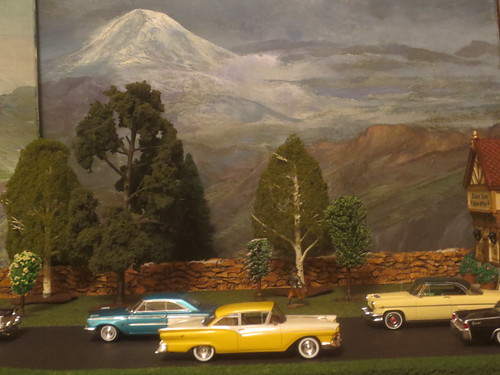 Background Paintings of Mt Rainier by Papa Dick | by IFHP97