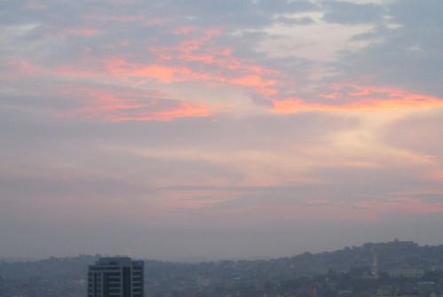 africa uganda kampala sunset sheraton hotel