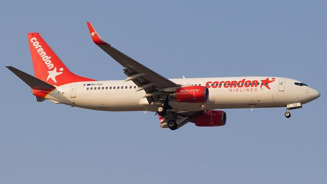 TLV - Corendon Boeing 737-800 9H-TJG