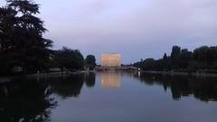 Roma EUR Laghetto al tramonto