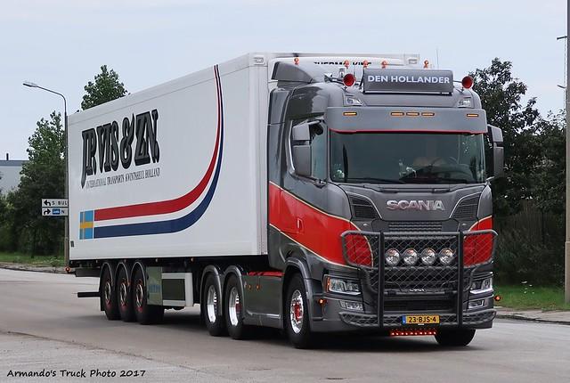 Scania S730 (NL234) Den Hollander - JP. VIS & ZN.