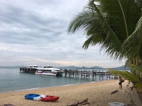 サムイ島 ロンプラヤピア