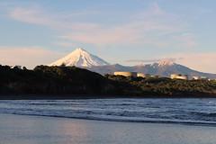 Back Beach and Mt Taranaki