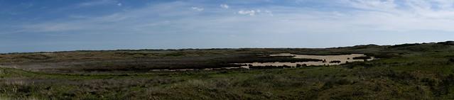 Panorama De Slufter, Texel, Netherlands