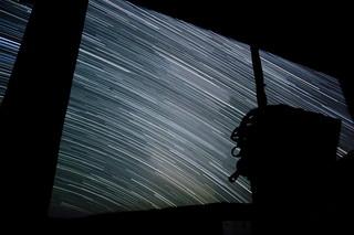 Milky Way Star Trails