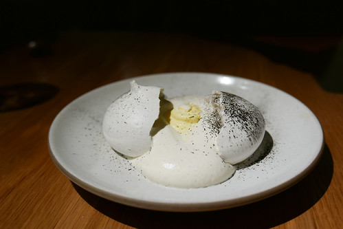 Husk Meringue, Corn Mousse ($16) | by loustejskal.com