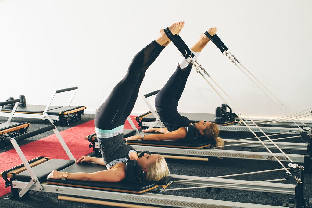 Reformer Pilates Photography - Long Spine Exercise | Flickr