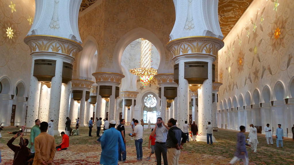 Zayed Grand Mosque | Question: Is there any hadith of Our Pr