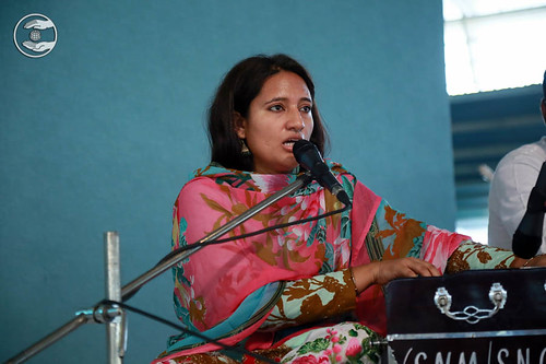Devotional song by Malu Sambria from Ghaziabad, UP