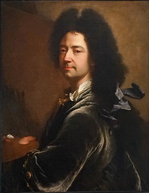 Autoportrait de Hyacinthe Rigaud (musée d'art, Perpignan)