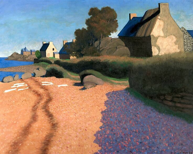 Landscape at Loguivy - Félix Vallotton , 1923 Swiss,1865-1… | Flickr