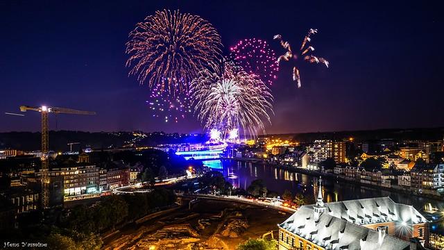 Fireworks Belgium -Fête Nationale
