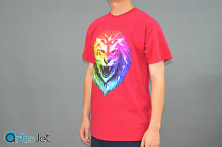 Bright colored T-shirt printing | by artisjet.com