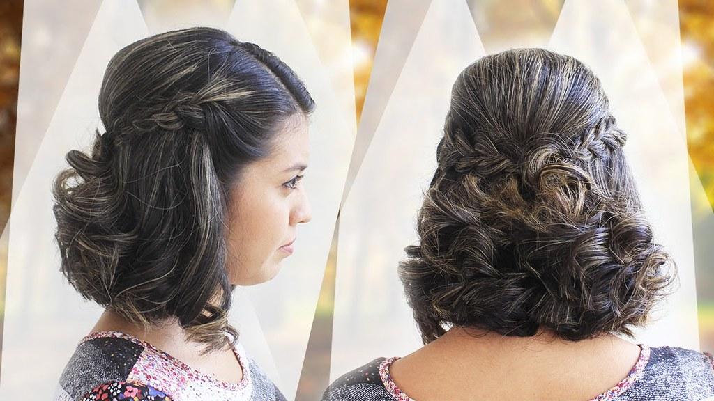 Ideas bonitas para peinados con pelo corto Galería de cortes de pelo estilo - Peinado facil para cabello corto | Peinado elegante | Flickr