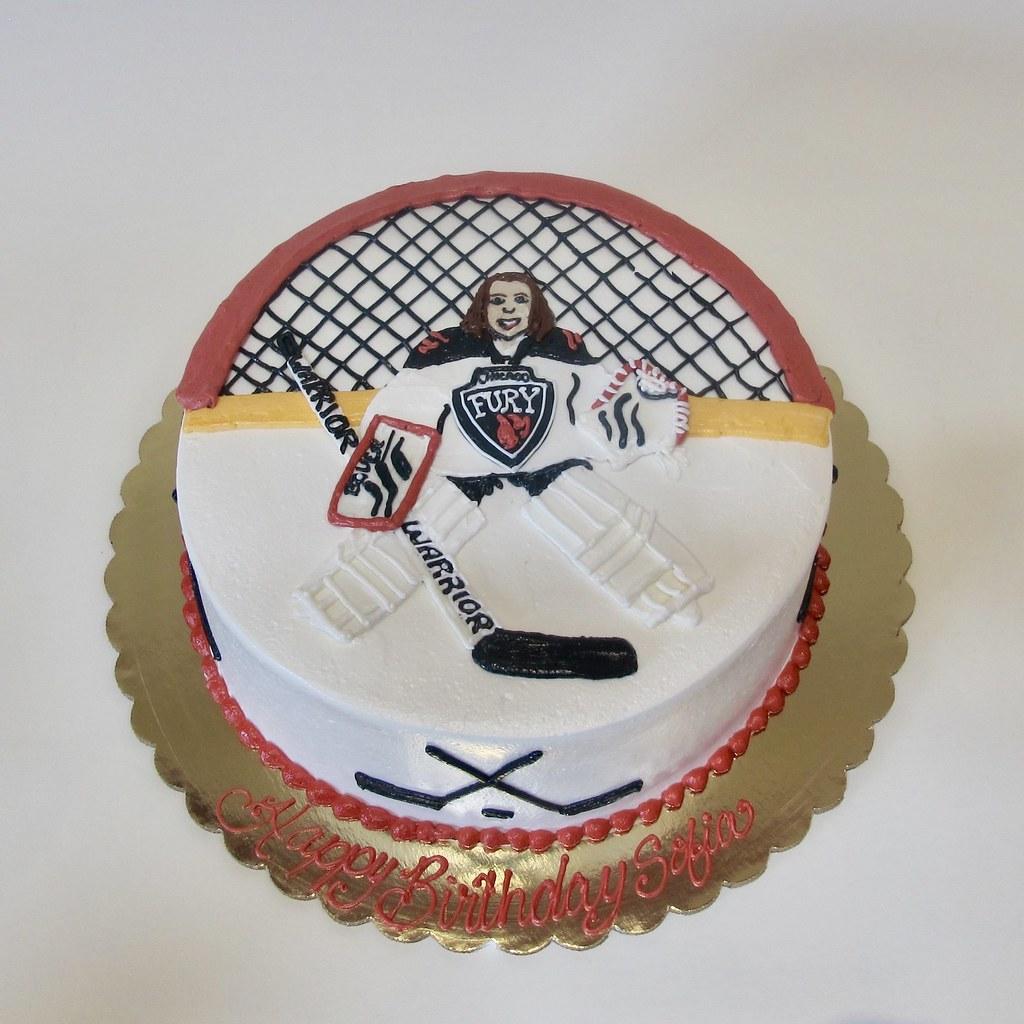 Cool Play Like A Girl Hockey Birthday Cake 300416 Creative Cakes Personalised Birthday Cards Petedlily Jamesorg