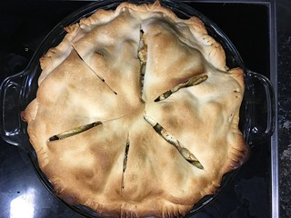 First Apple Pie of 2017!