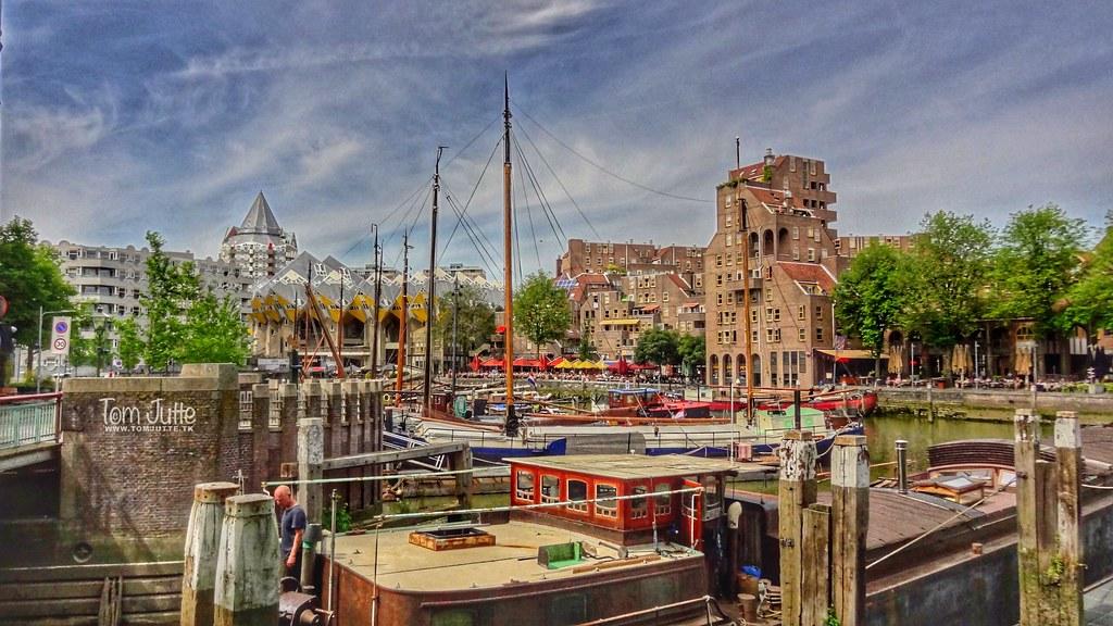Oude Haven Rotterdam Netherlands 5186 The Old Port Du