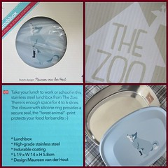 """""""The Zoo - Forest Animals"""" Stainless Steel Lunchbox"""