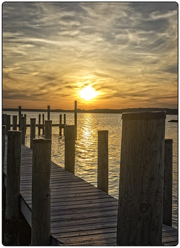 sunset summer texture geometric bay pier unitedstates delaware fenwickisland