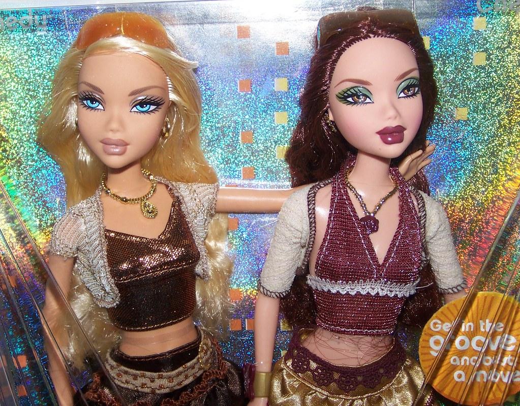 My Scene Barbie dolls Let/'s go disco 2006 Kennedy//Chelsea