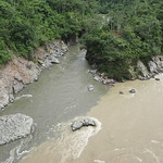 Mi, 01.07.15 - 10:54 - Hier wird das Amazonas Wasser eingefärbt