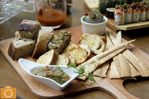 High Street Cafe bread and dips | by foodreviewsmanila