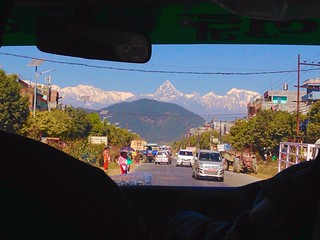 Miles Away Transportation Mode Of Transport Mountain Car Land Vehicle Real People Built Structure Traveldiaries Road Architecture Sky Nature Outdoors Day One Person PhotoNepal Pokhara, Nepal