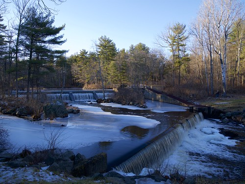 Exeter River Pickpocket Dam   by jquill70