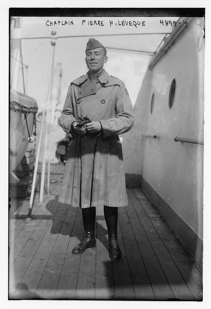 Chaplain Pierre H. Leveque (LOC)