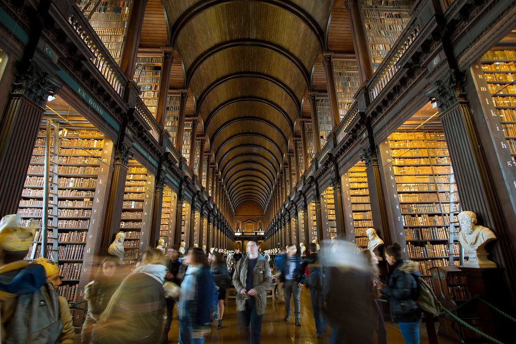 The Old Library - The Library of Trinity College Dublin | Flickr