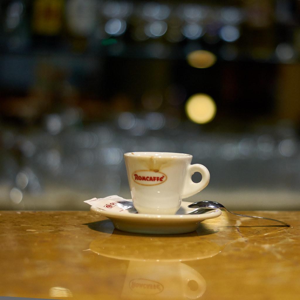Un espresso prego!