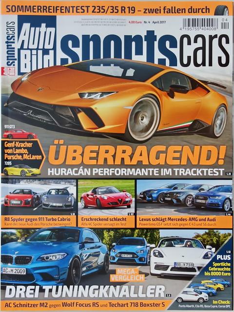 Auto Bild Sportscars 4 2017 More Cars
