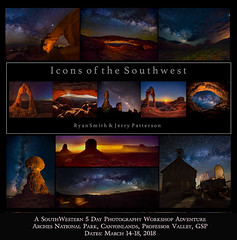 March 2018 Icons of the Southwest Workshop Adventure
