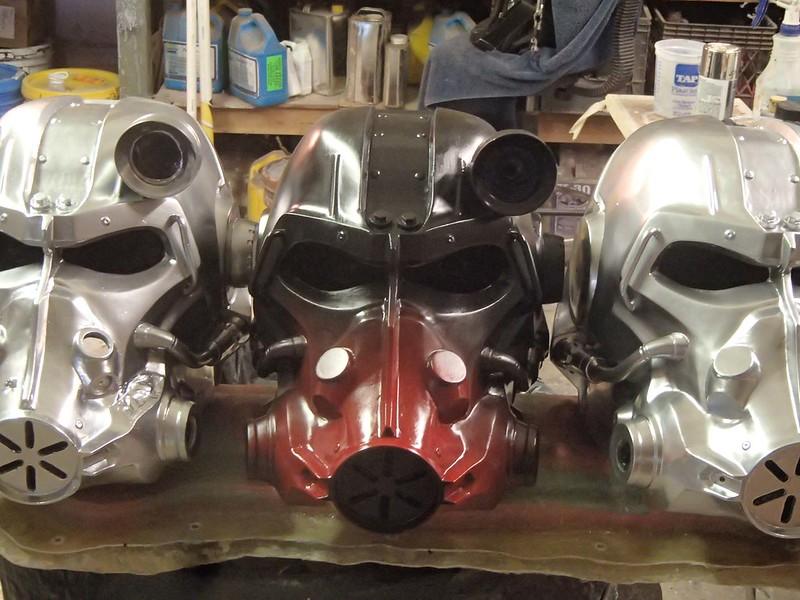 Atom Cats Helmet Beginning