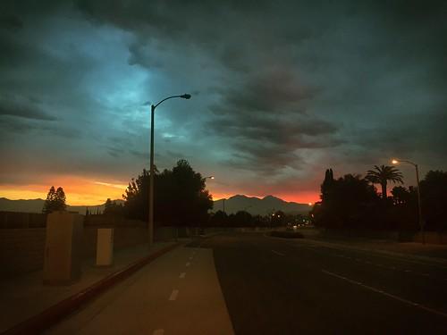 clouds sgv mountain storm sun sunrise