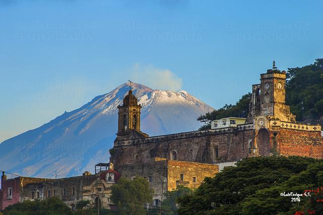 Atlixco - El ex-convento franciscano de Santa María de Jesús -  Puebla - México