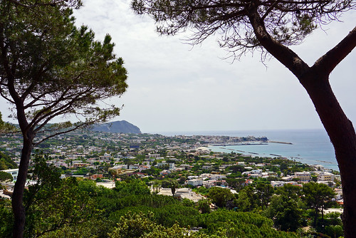 View from Giardini La Mortella, Island of Ischia, Italy